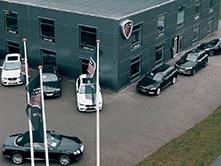 Carclubs hovedbygning i Kolding