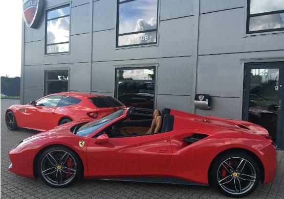 Ferrari hos Carclub