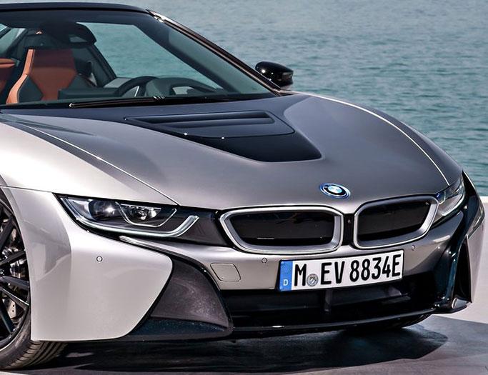 BMW I8 Roadster fra 2019