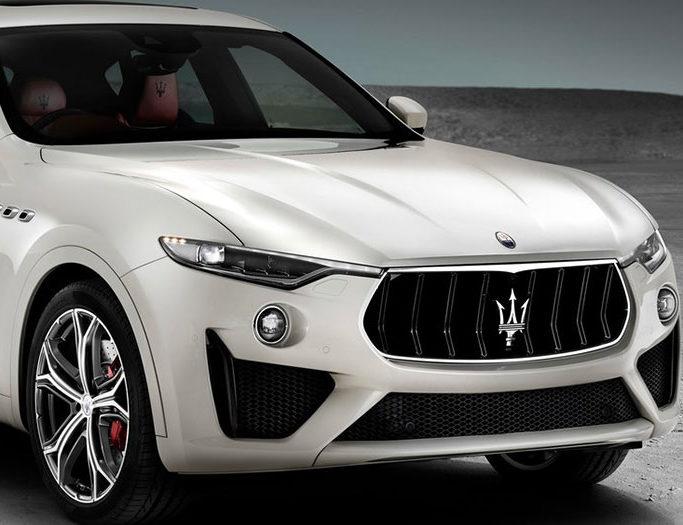 Hvid Maserati Levante GTS fra 2019