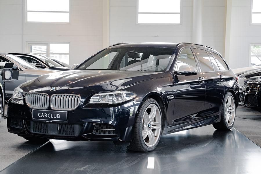 BMW m550d til operationel leasing